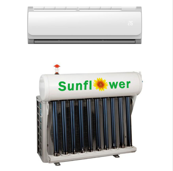 How to distinguish between hybrid solar air conditioners and 100% solar DC air conditioners-1